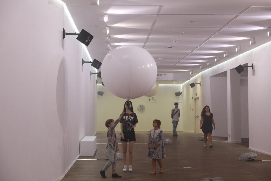 《示踪器》,2017年,上海民生现代美术馆