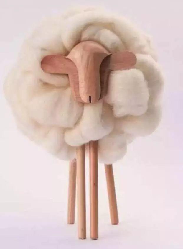 一只生活在拉普拉塔河岸边的萌羊正在朝你走来。